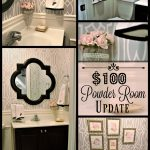 Powder Room Update – Week 5 ($100 Room Challenge)