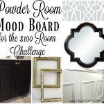 Powder Room Update – Week 1