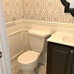 Time Out Chair Ideas Tables And Chairs For Restaurants Second Hand Powder Room Update - Week 3 A Purdy Little House