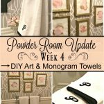 Powder Room Update – Week 4
