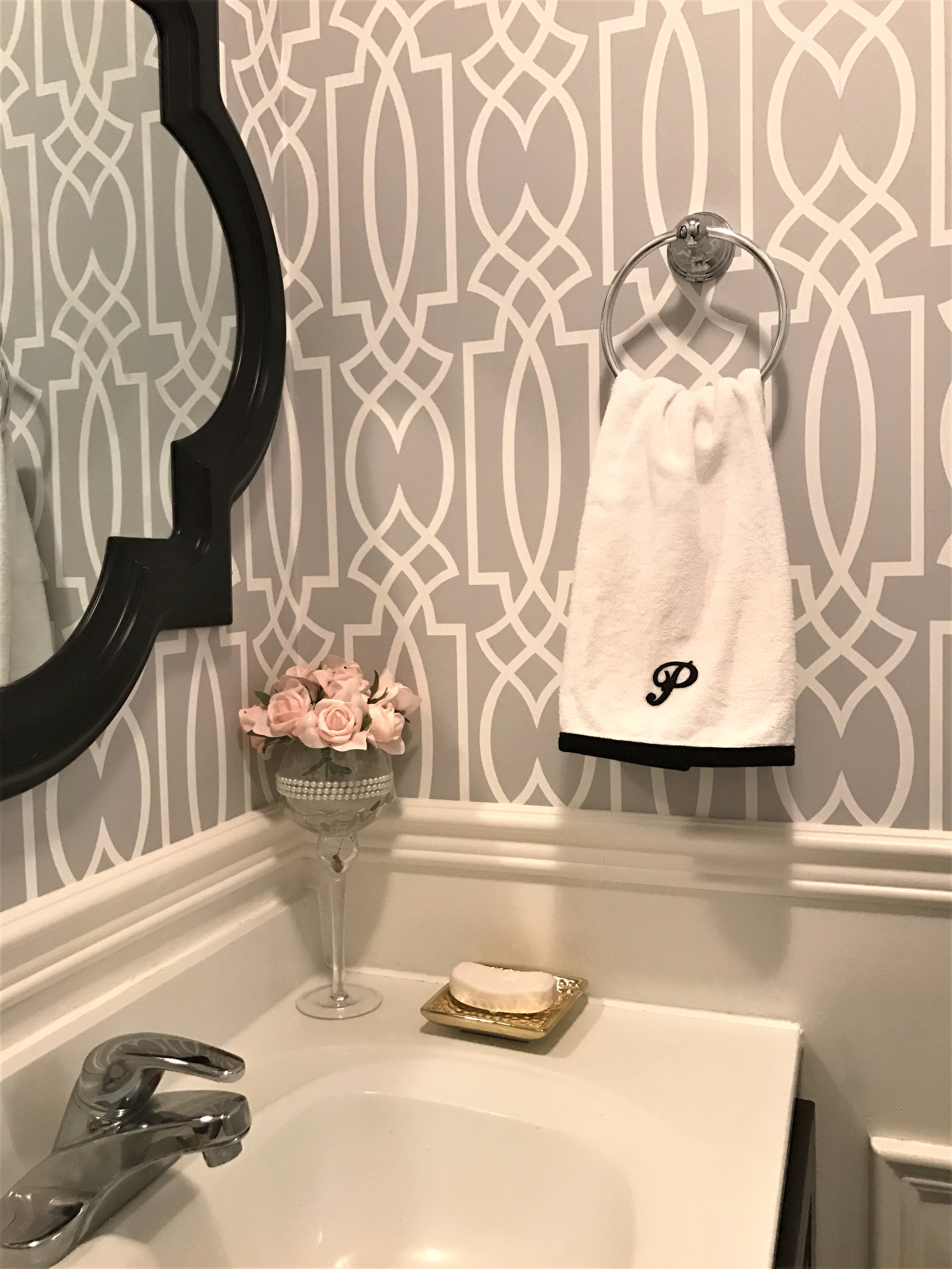 powder room updates Archives a purdy little house