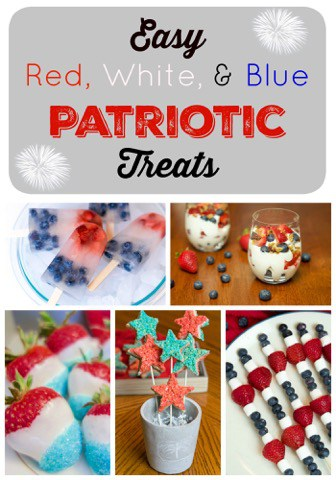 Patriotic Treats for a Fourth of July Party