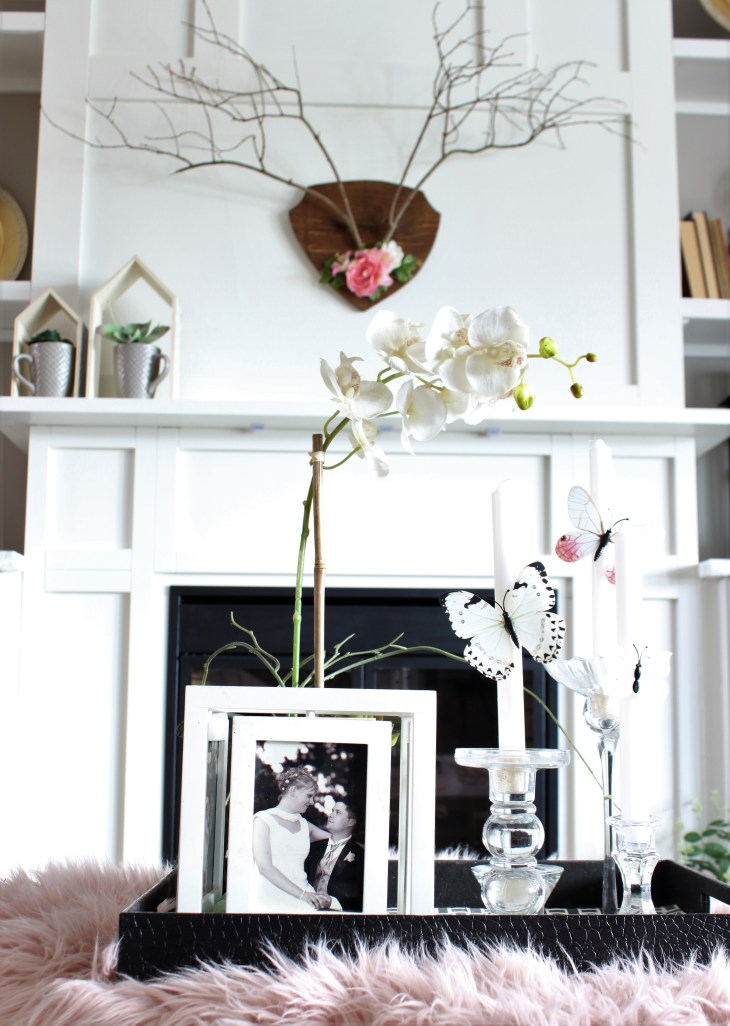 Pinterest Challenge How to Make Antlers out of twigs for Spring Decor
