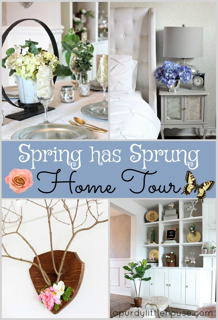 Spring has Sprung Home Tour