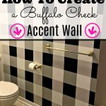 How to Create a Buffalo Check Accent Wall
