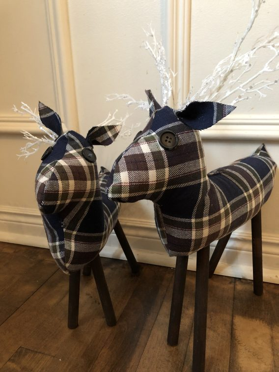 How to Make DIY Fabric Reindeer