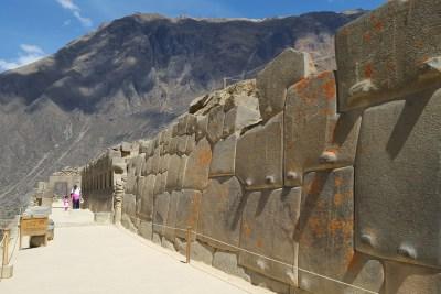 Ollantatambo Inca Wall - Apurimac Adventures
