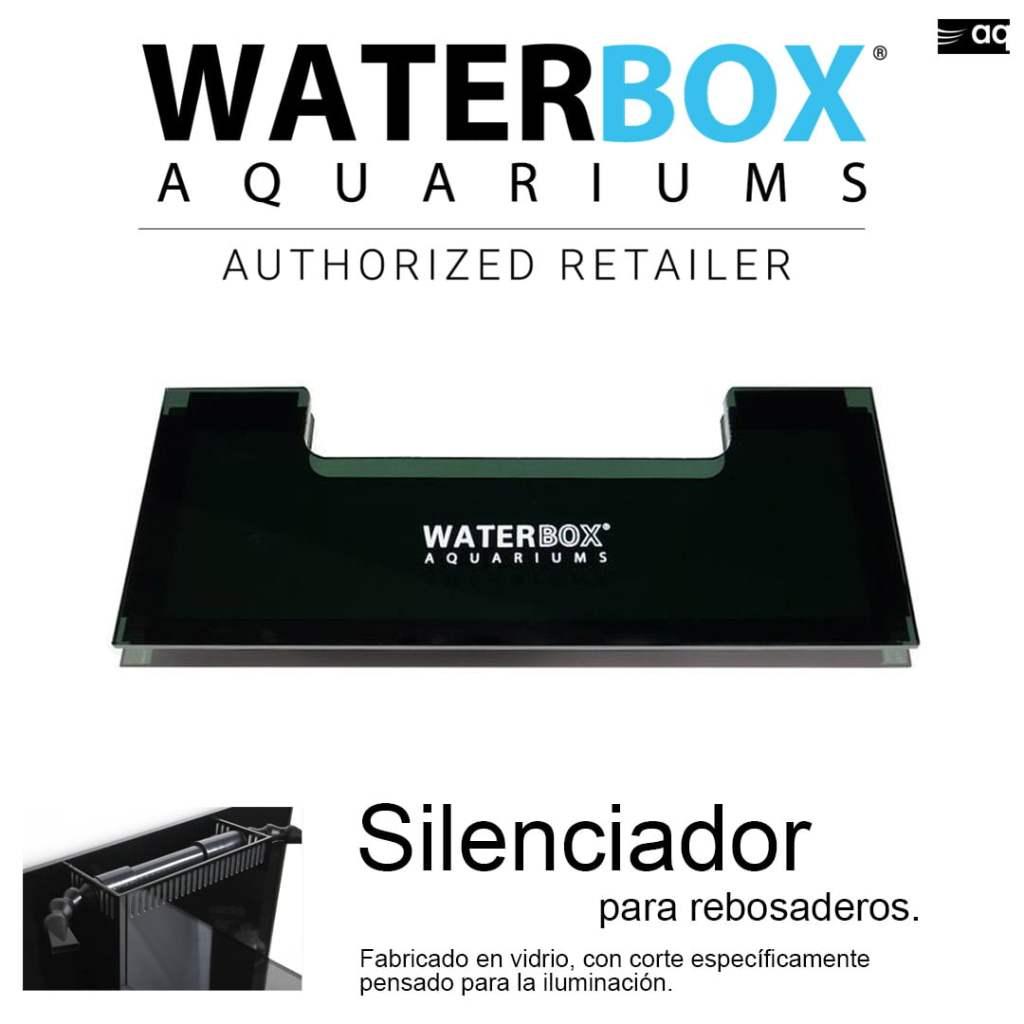 waterbox silenciador para rebosadero