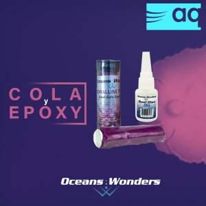 Cola y epoxy OceanWonders, Cola y Epoxy de OceansWonders