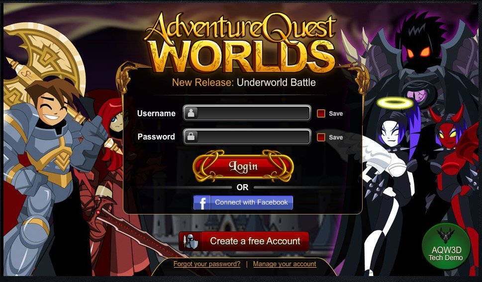 adventurequest worlds on play