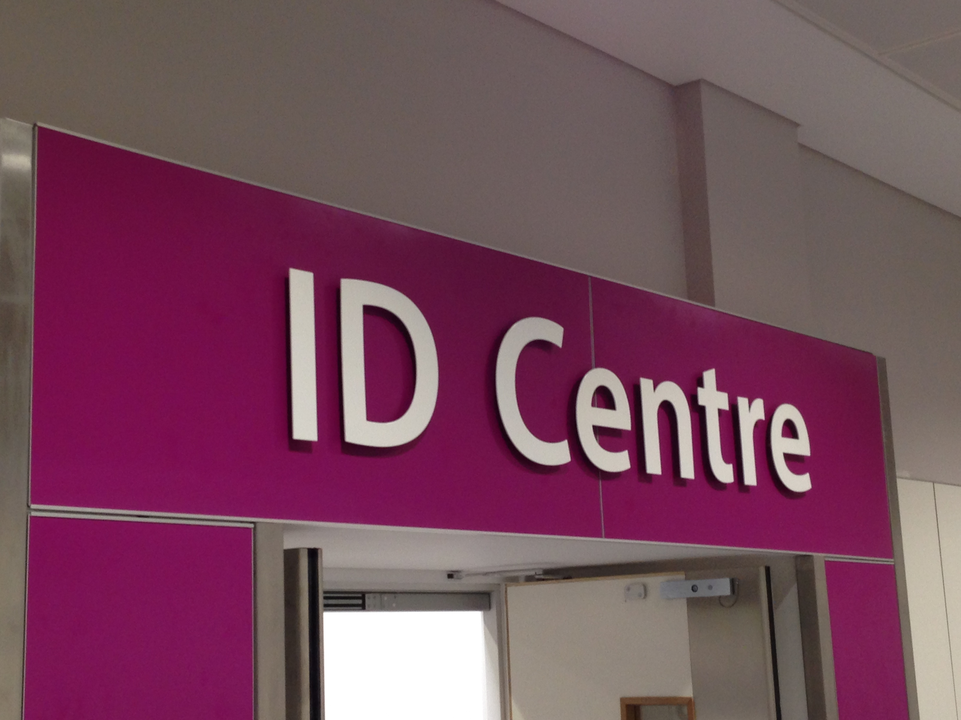 Gatwick ID Centre fit out