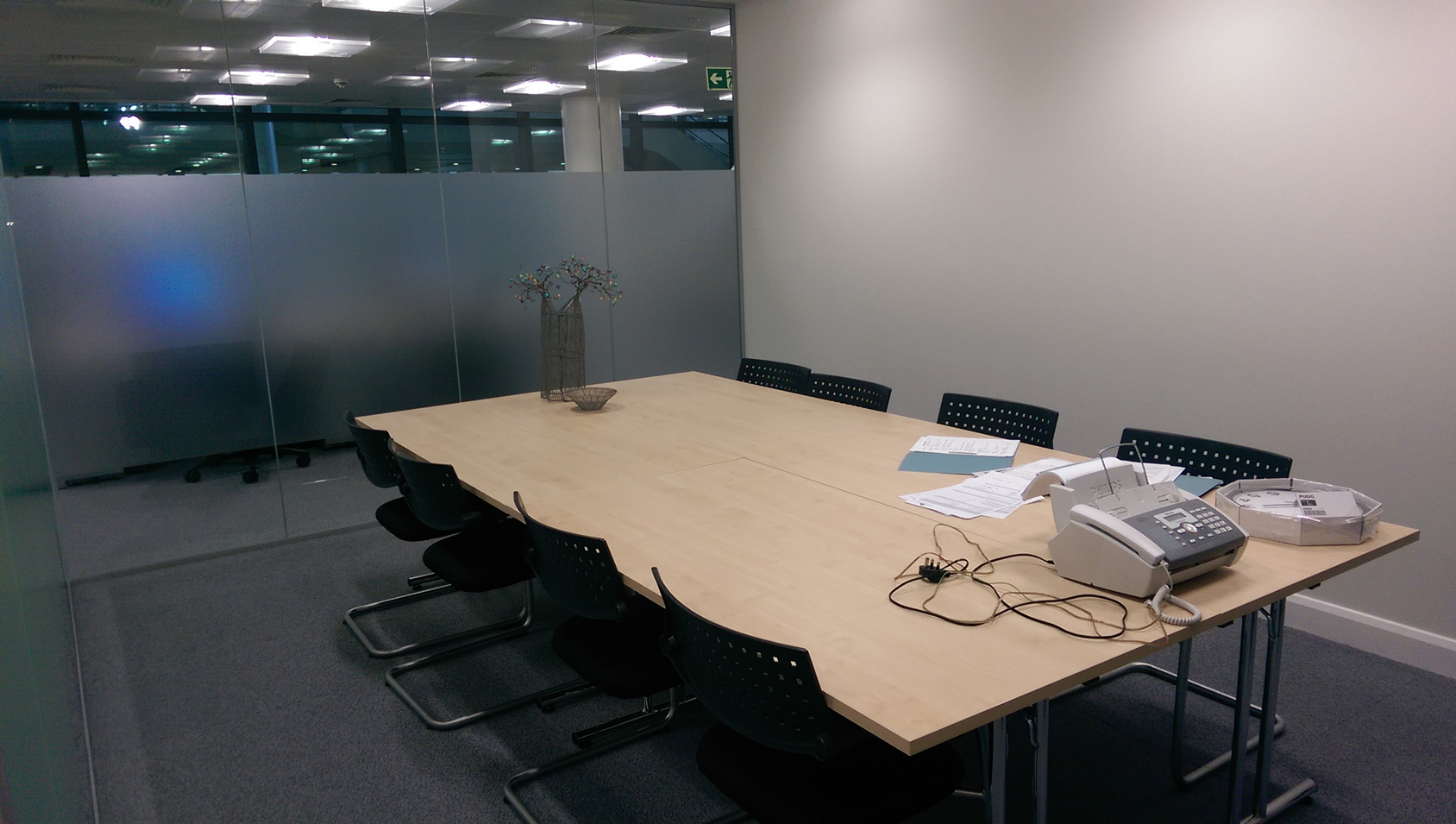 Terminal 2 office fit out