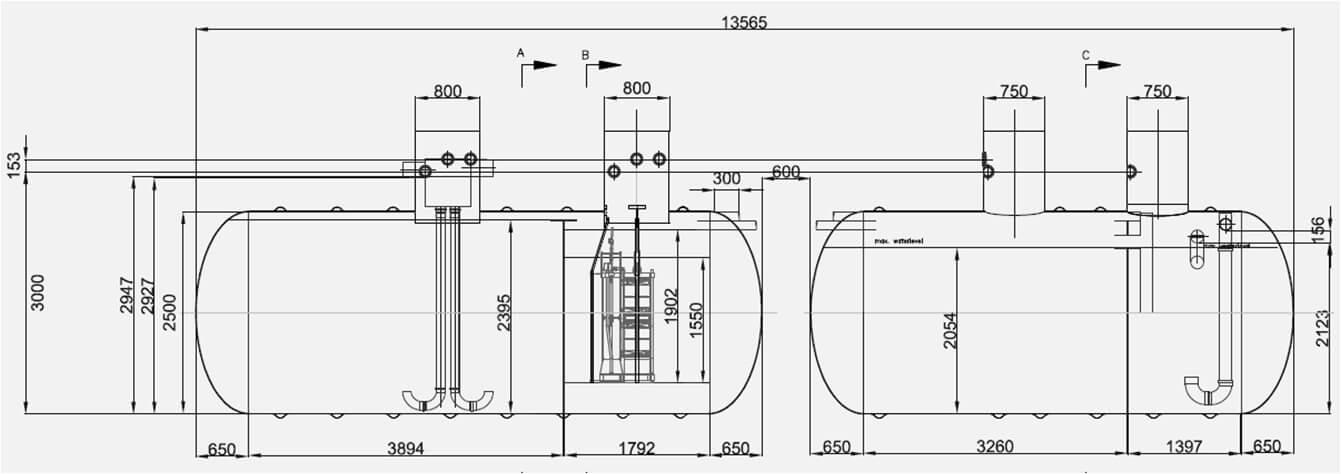 Underground Well Pressure Tank Diagram Within Diagram