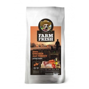 Farm Fresh – Chicken & Turkey Active/Puppy Grain Free
