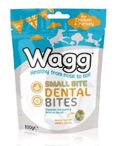 Wagg Dental Small Bites Chicken&Parsley 100g
