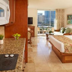 Hotels With Kitchens In Waikiki Prefab Granite Kitchen Countertops City View