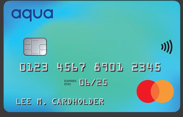 credit cards aqua