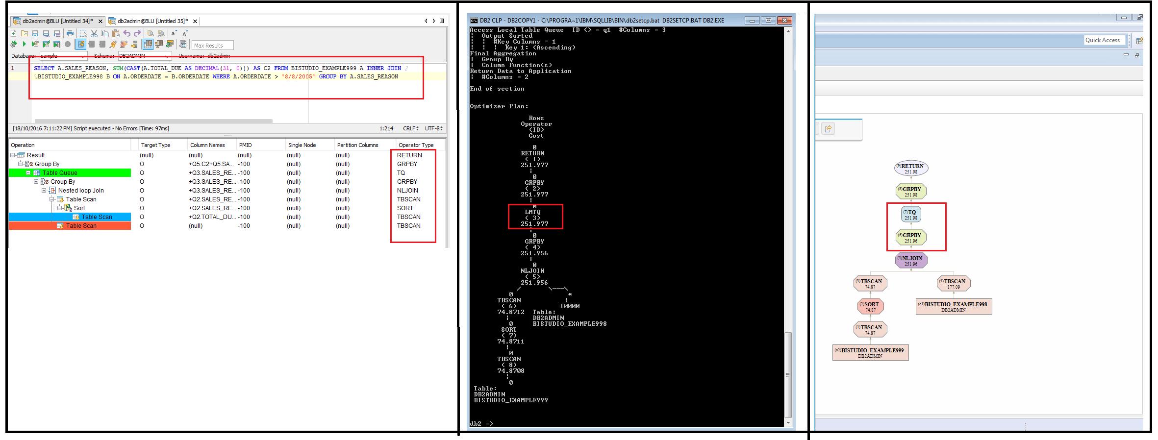#14787: IBM DB2 UDB: Visual Explain does not display the different Table Queues | Aqua Data Studio