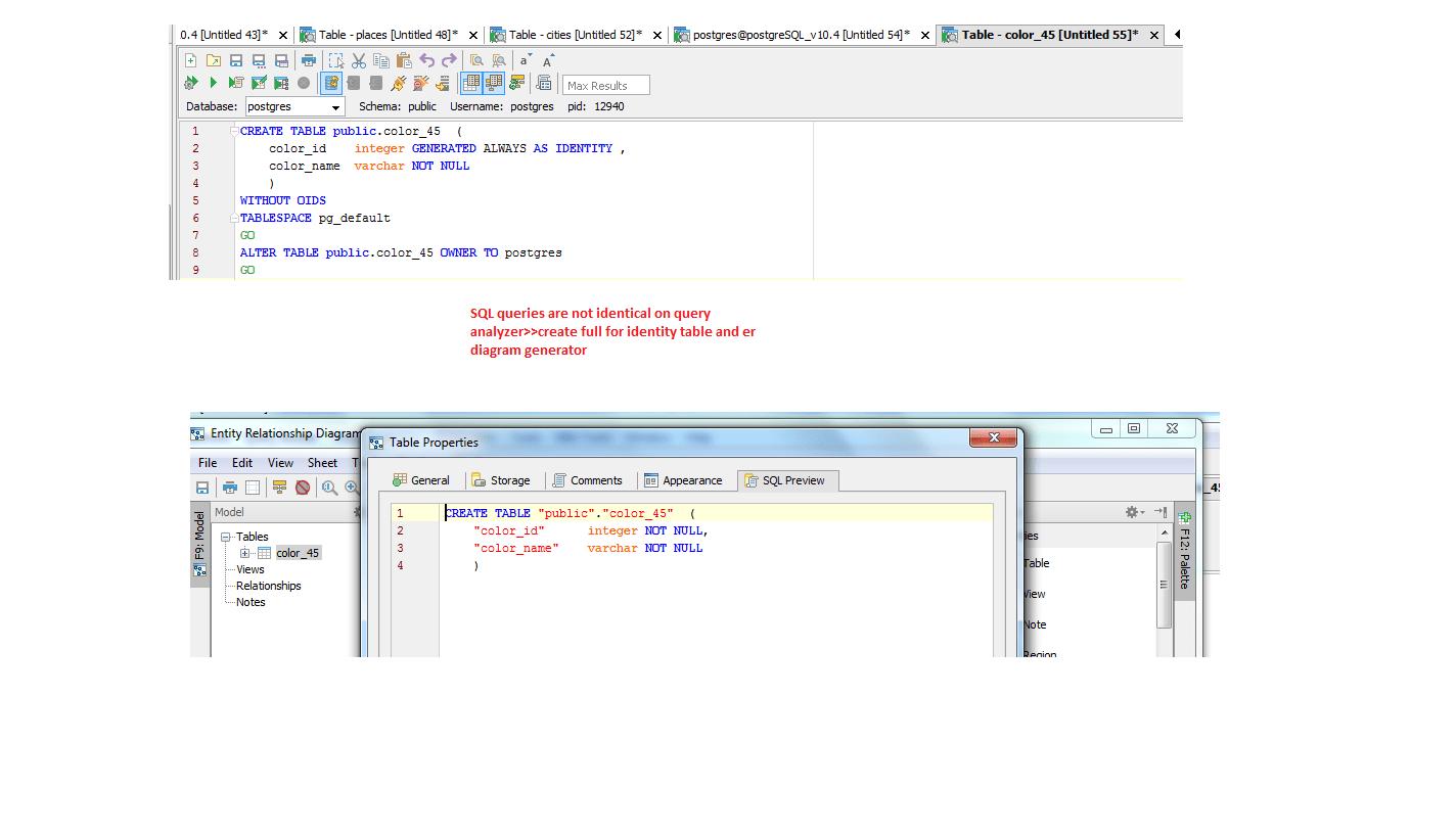 hight resolution of  15541 support for postgresql version 10 4 aqua data studio