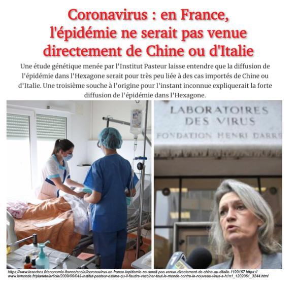 Suspicion 3ème souche en France
