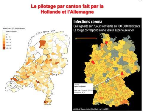 """L'approche cantonale de l'Allemagne et de la Hollande pour gérer """"finement"""" le """"confinement"""""""