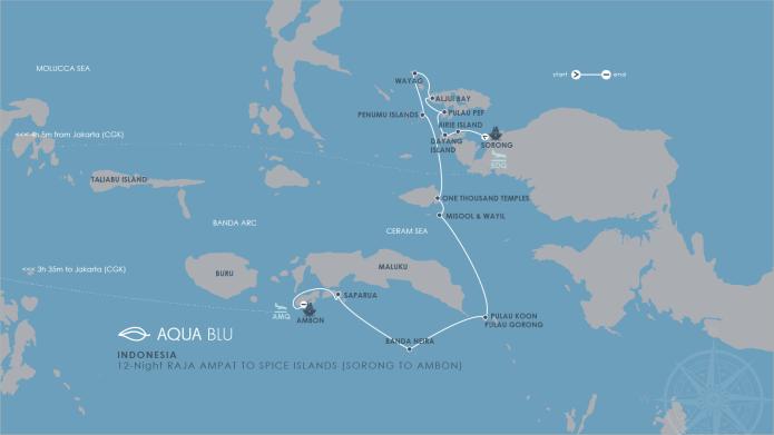 12 Night Indonesian Cross Destination Cruise Aqua Expeditions