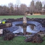 Pond restoration at Bath