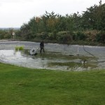 Commercial pond cleaning