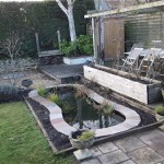 Pond in Cotswolds re-filled
