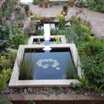 Reflection pool, stainless steel spillways and brick pools - Bristol