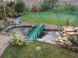 Pond re-line Bristol: pond has been improved in Bristol