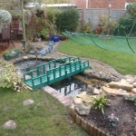Pond re-line Bristol: Pond has been re-lined