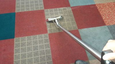 Cleaning Soiled Workshop Carpet