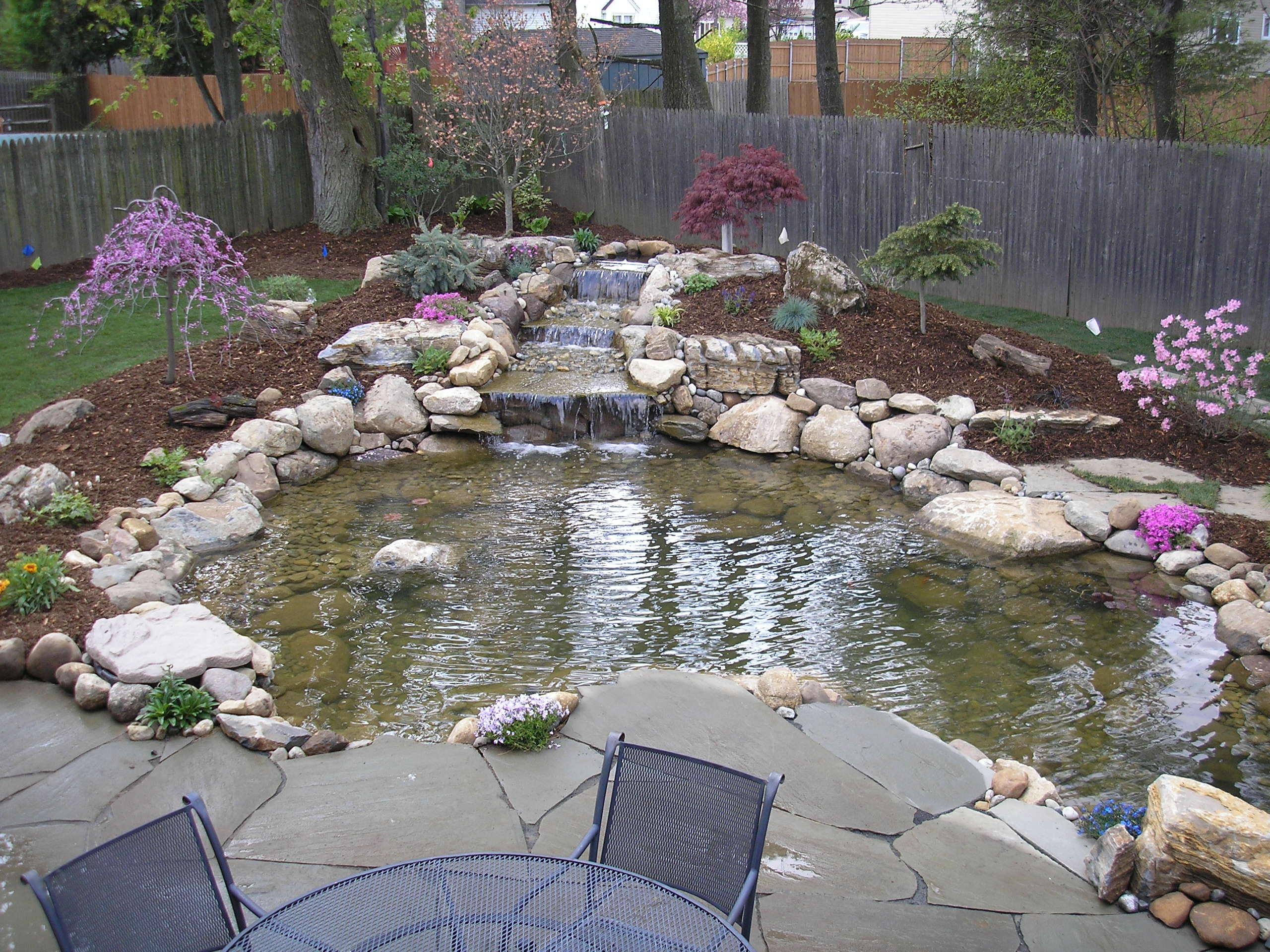 Ideas for garden fish ponds Details  Home landscaping