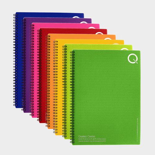 A4 Polypropylene Wire Notebooks – Recycled