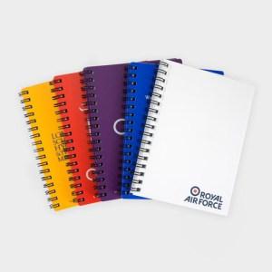 A6 Polypropylene Wire Notebooks – Recycled