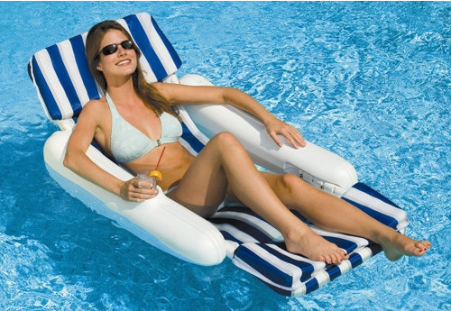 chair pool floats barrel chairs swivel casters loungers and aqua leisure pools relax in style with this broad range of our most trusted