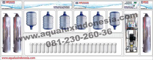 Biaya Depot Air Minum Stainless Modern Ende, Nusa Tenggara Timur