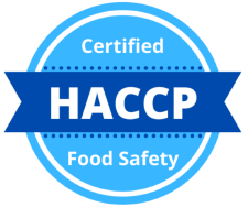 HACCP Food Safety Certified