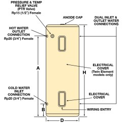 Wiring Diagram For Hot Water Heater Element Traxxas Rustler Vxl Parts 315l Vitreous Enamel | Aquamax - Solutions