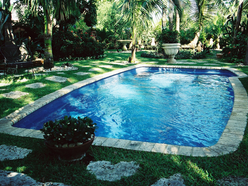 Aquamarine Pools  Fiberglass Pools from Viking Pools Classic Model Swimming pool models for