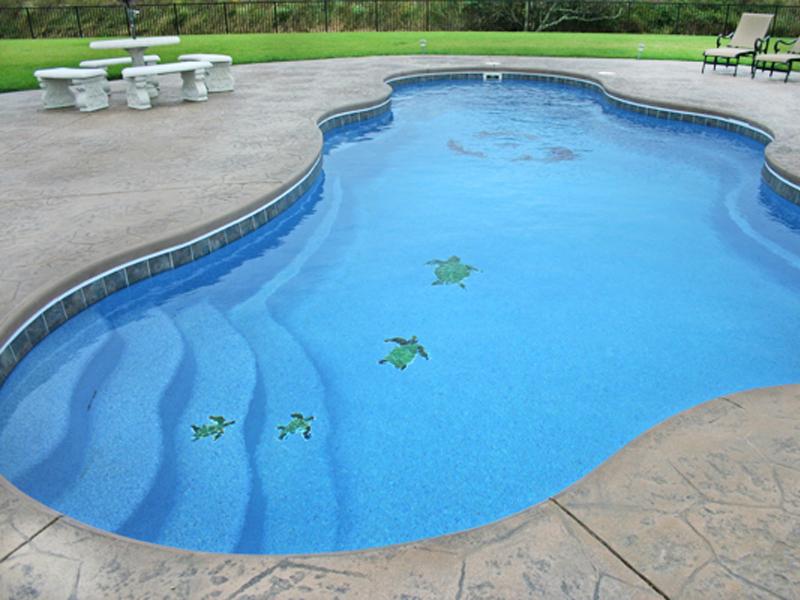 fiberglass swimming pool mosaic tiles