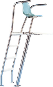 paragon lifeguard chairs at home depot chair ultraflyte ladder rear ladders and deck equipment lights safety grates
