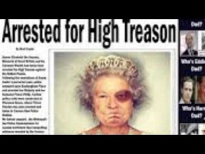 Arrested for high treason0