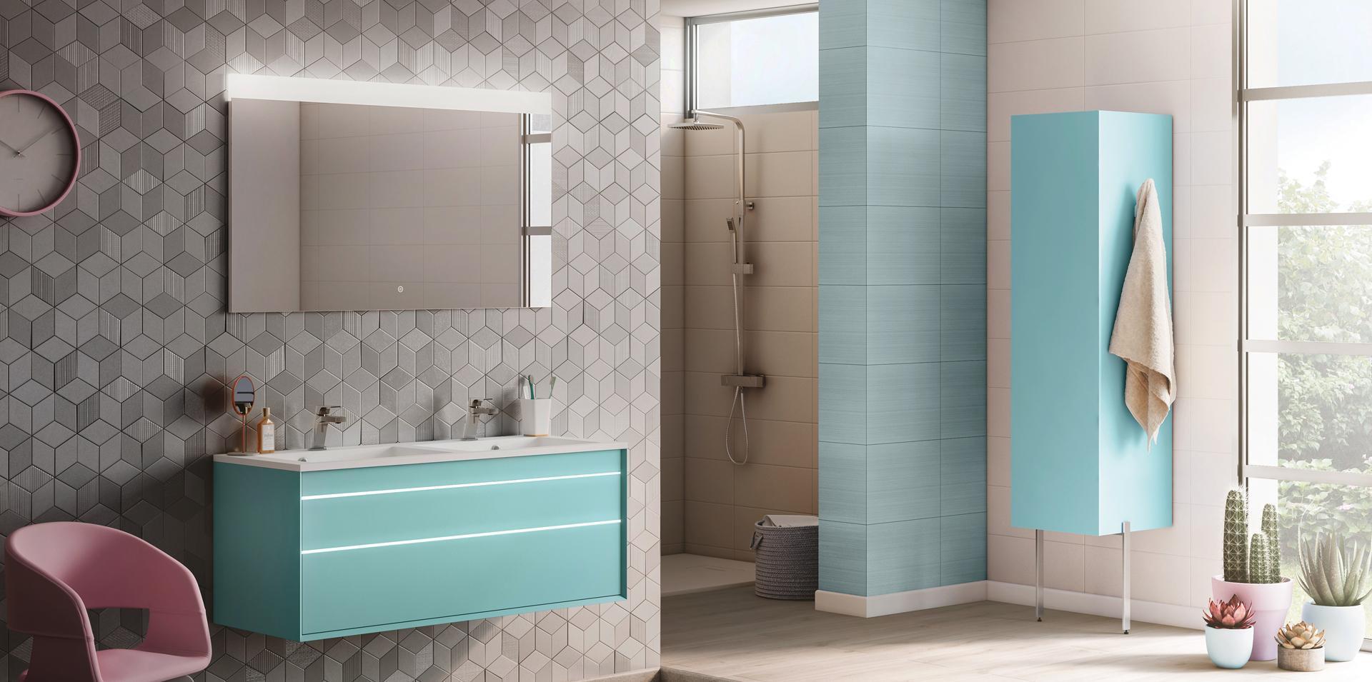 Meubles de salle de bain design  mobilier baignoires et