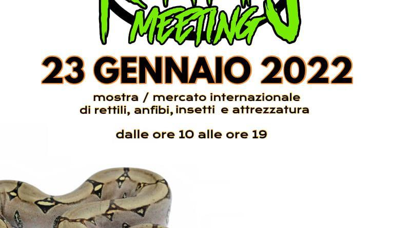 Milano Reptiles Meeting 23 Janvier 2022