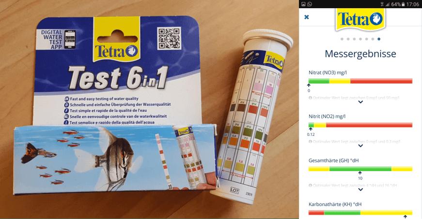Wasserwerte testen – einfach mit einer App