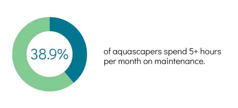 aquascaping survey result - monthly maintenance