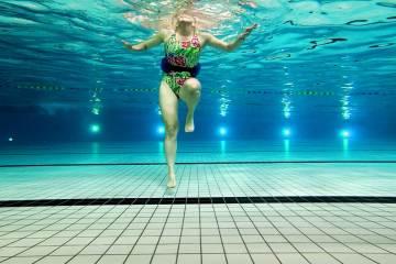 Loopscholing Kaatsen in het zwembad - Aquarunning