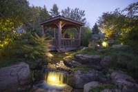 Pond Lighting, Garden Lighting Create Magic at Night